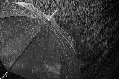 大雨の様子