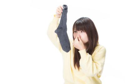 洗濯物が臭う