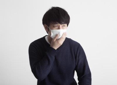 マスクの患者