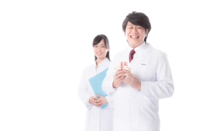 笑顔のドクター