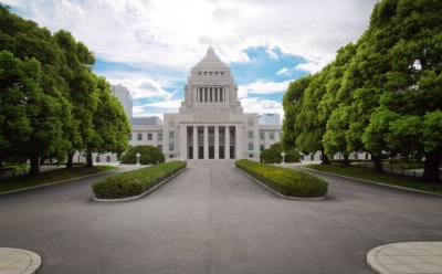 国会議事堂の正面
