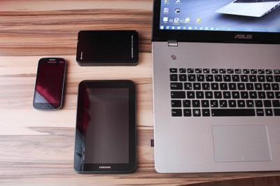 スマホやパソコンやタブレット